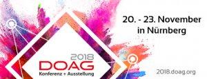 DOAG Konferenz und Ausstellung 2018 Banner
